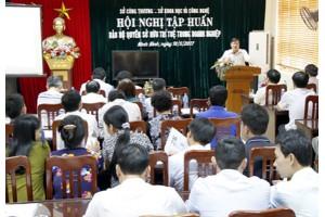 Ninh Bình: Tập huấn bảo hộ quyền sở hữu trí tuệ cho doanh nghiệp