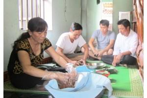 Duy trì và phát triển nghề làm nem chua Yên Mạc